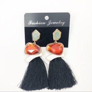 Stone Statement Fashion Earrings